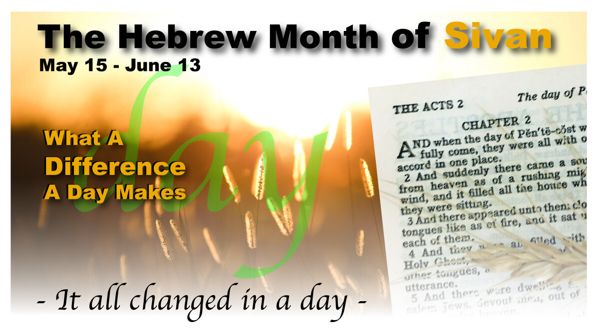 The Hebrew Month of Sivan   Destiny Ministries - KS